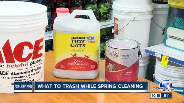 What to trash while spring cleaning