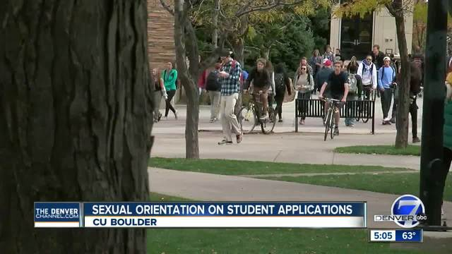 CU Boulder considering asking prospective students to list sexual…