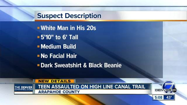 New description released of suspect in trail attack on girl