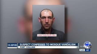 Ft. Collins mosque vandal confessed