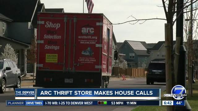 ARC thrift store makes house calls