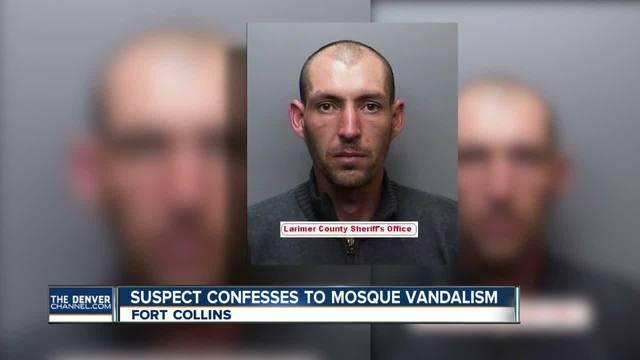 Documents show Fort Collins mosque vandalism suspect confessed