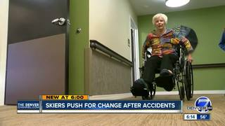 Injured skiers push for safety summit