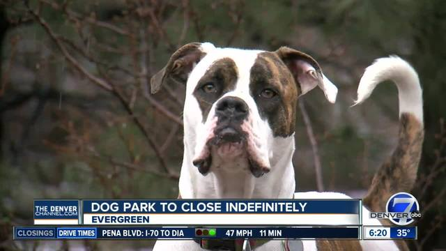 Supporters fight pending closure of Evergreen dog park