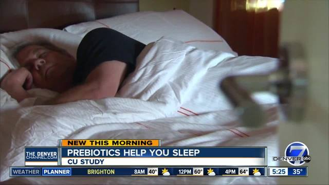 Prebiotics may lead to better sleep and stress managment