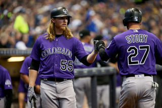 Rockies beat Brewers 7-5 on Opening Day