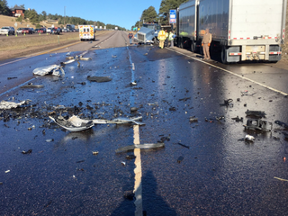 WB I-70 near Genesee reopens after crash