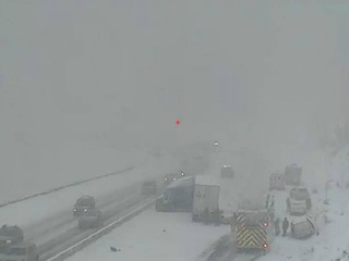 WB I-70 open again after afternoon crashes