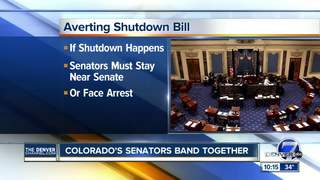 politics senate democrats threaten government shutdown amid trump budget wishlist
