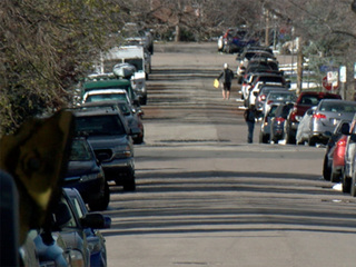 Neighbors say parked cars creating hazards