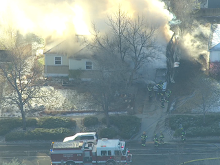 1 injured in Thornton house fire