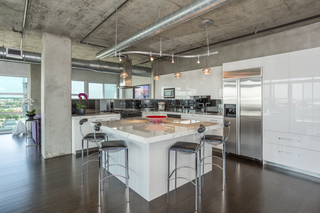 Denver penthouse is in the center of it all