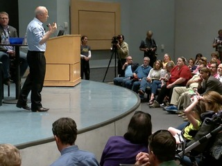 Health care reigns supreme at Coffman town hall