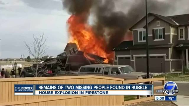 2 found dead- 2 injured after Firestone home explosion and fire