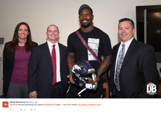 FBI returns Von Miller's SB50 helmet
