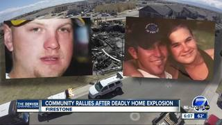 Community rallies behind house explosion victims