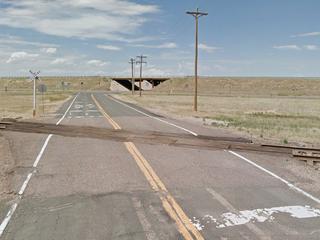 Man killed in train-car collision near Byers