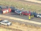 5-vehicle crash shuts down EB C-470
