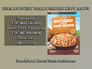 Recent food recalls you should know about