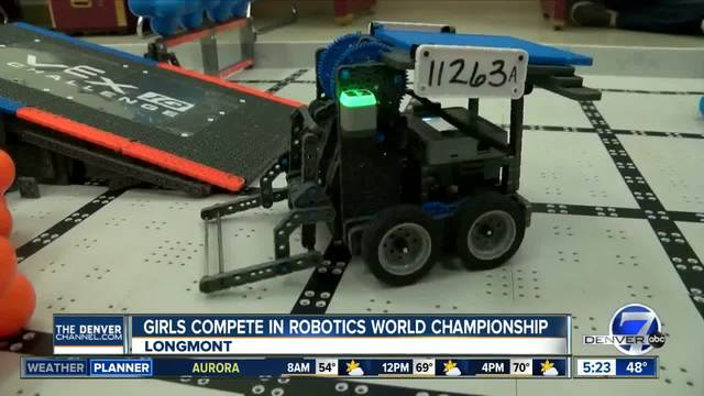 Team Tech No Logic ready for Vex World Robotics Championship