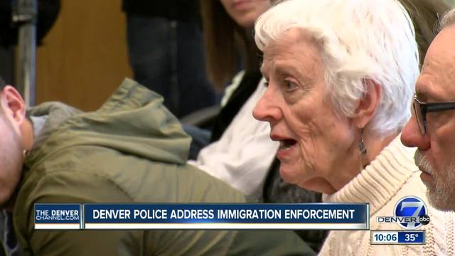 Denver police chief allays concern within undocumented community over…