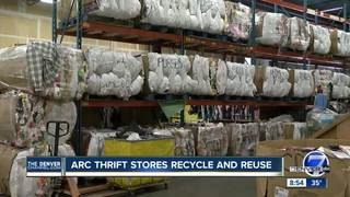 Thrift stores keep waste out of landfills