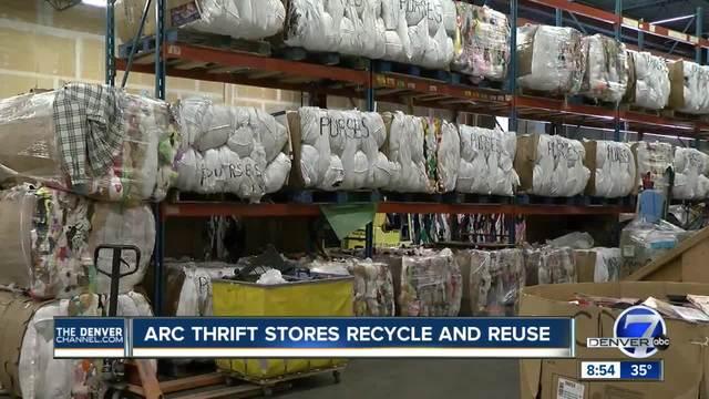 Arc thrift store warehouse tour