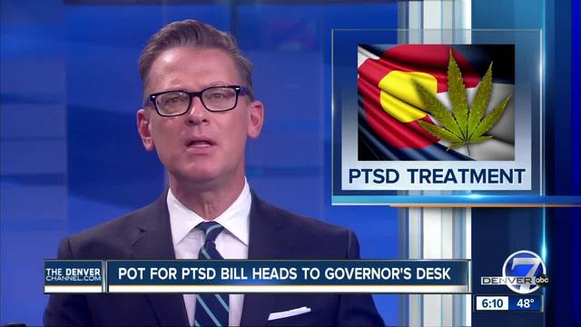 Colorado lawmakers approve pot for PTSD- with new limits