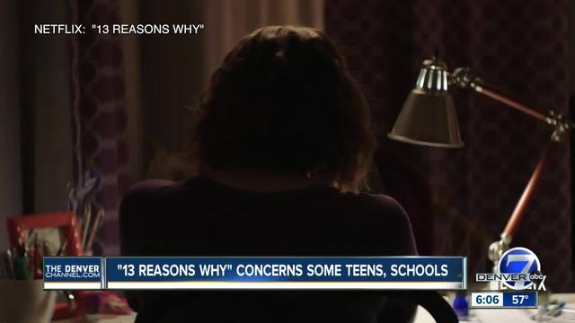 13 Reasons Why concerns some teens- schools in Colorado