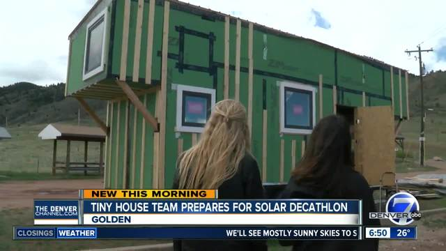 tiny house denver. Mines Tiny House Team Prepares For Solar Decathlon Debut Denver