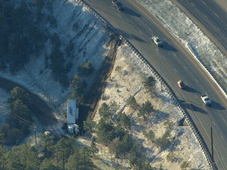 2 separate semi crashes close WB I-70 in JeffCo