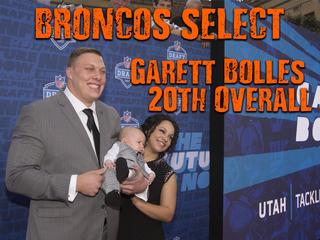2017 NFL Draft: Broncos select Garett Bolles