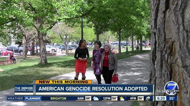Armenian Genocide resolution adopted in Colorado Legislature