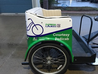 CDOT rolls out pedicabs during construction