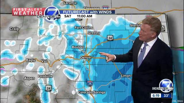 Winter storm warning for the Metro Area