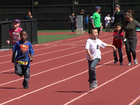 Kids have a blast at track & field competition