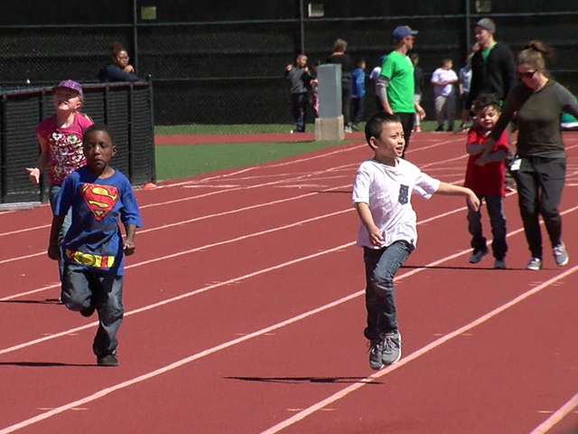 Kids have a blast at track - field competition