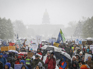 See photos from the Climate March in Denver