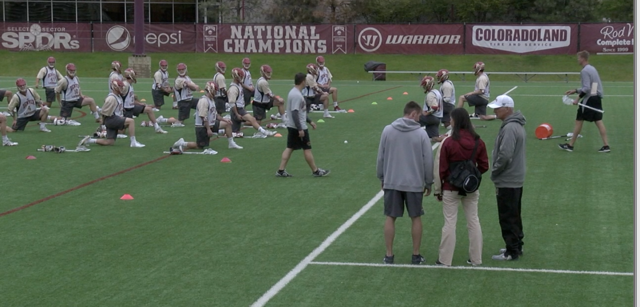 Pioneers training staff plays a big role in lacrosse team success