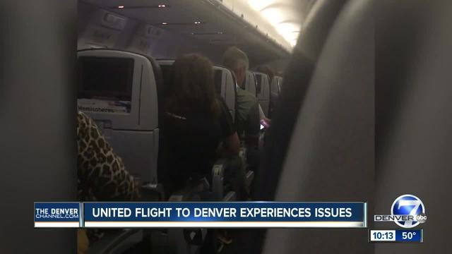 Highlands Ranch man says United flight took experiences several issues