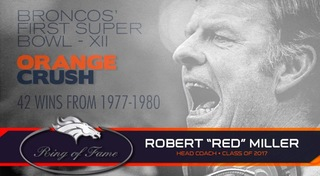 Red Miller elected into Broncos Ring of Fame