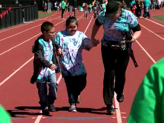 Volunteers make track meet come to life