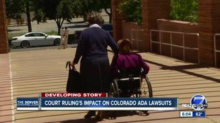 ADA lawsuit machine begins to fall apart