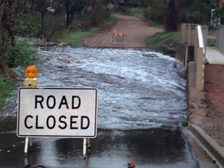 Crews assess flood damage in southern Colorado