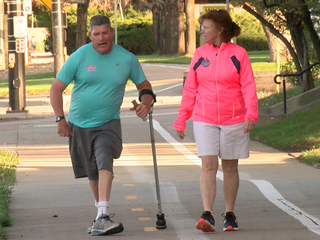 Runners with disabilities reaching fitness goals