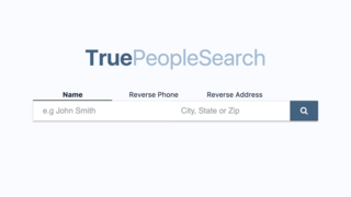 How to remove info from 'people search' website