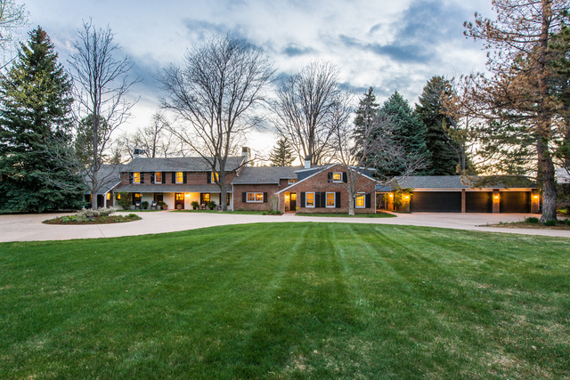 Renovated 1943 farmhouse in cherry hills village listed for Dream homes colorado