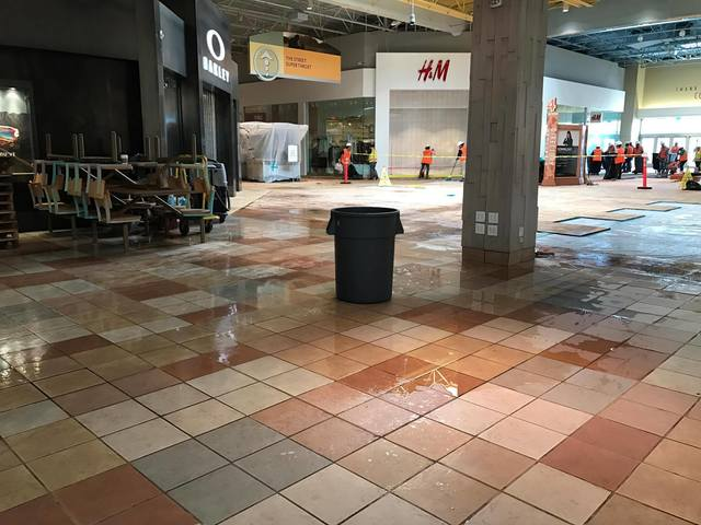 Colorado Mills mall employees hit by hail damage