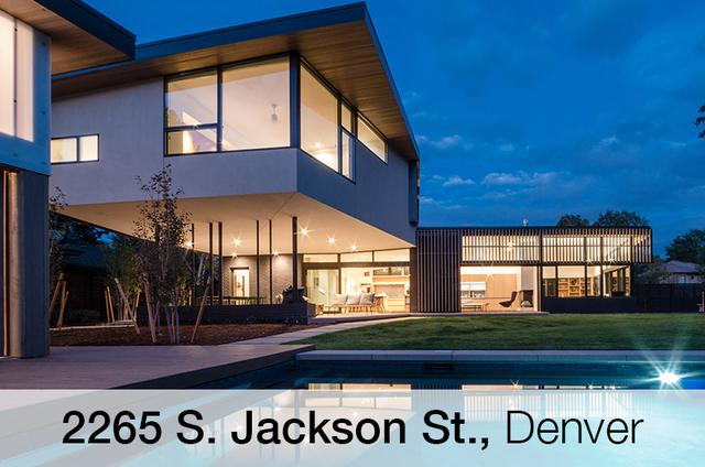 gallery: go inside locally-designed homes at denver modern home