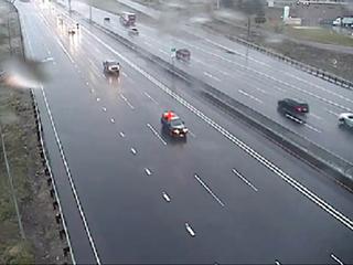 Storm lightens up, leaves slushy roads in Denver